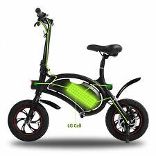 12in 350W Electric Bicycle Folding Ebike 36V Battery Bike Powered City Bike Gift
