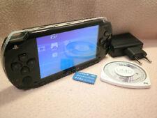 PSP 1004 NERA BUONO STATO + 1 GIOCO + MEMORY 1GB