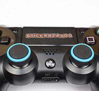 2 x schwarz blau Joystick Thumbstick Kappen für Sony PS4  XBOX Controller