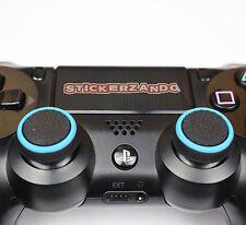2 X nero blu Joystick Thumbstick Tappi per Sony ps4 ps3 xbox controller