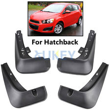FIT FOR 2012-16 CHEVROLET SONIC / AVEO HATCHBACK MUD FLAP SPLASH GUARDS MUDGUARD