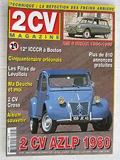 2 CV MAGAZINE n° 29 /AMI 6 BREAK 1964-66/2 CV AZLP '60/2 CV CROSS