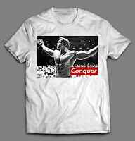 ARNOLD SCHWARZENEGGER CONQUER GYM SHIRT *MANY OPTIONS* FREE SHIPPING