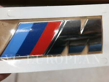 "BMW E70 X5 M Genuine Rear Trunk Emblem ""M"" Lettering Decal NEW 2010-2013 !!!!!"