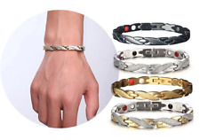 Magnetic Bracelet Snake Pattern Bangle Pain Relief Arthritis Weight Loss Carpel