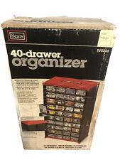 Vintage SEARS 40 Drawer Organizer 965265 NOS Tools Hardware Crafts