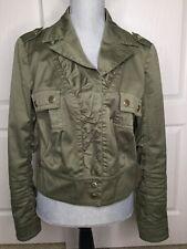 R.E.D. Valentino Olive Green Jacket Size 46 Fits US Size Medium