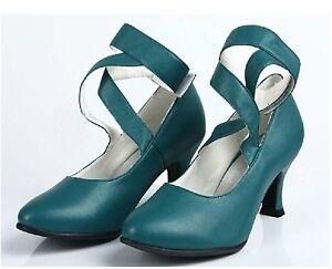 Sailor Neptune Kaiou Michiru Cosplay Shoes Green Boots Custome Customized
