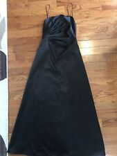 Black  abs by allen schwartz gown party  long Dress size 6