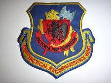 US Air Force 432nd TACTICAL RECONNAISSANCE WING Vietnam War Patch