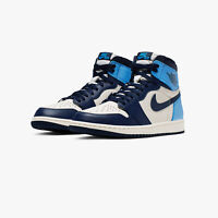 Nike Air Jordan 1 Retro High Obsidian Blue White UNC UK 5 6 7 8 9 10 11 12 US
