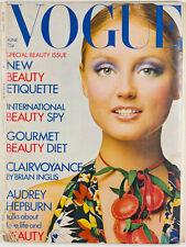Ingrid Boulting AUDREY HEPBURN Irving Penn PETER KNAPP  Vogue magazine June 1971