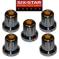 5 New Replacement Knobs Fits Cobra 25 29 Ltd - Other Cb Radios Or Other Projects