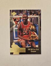 Michael Jordan 1996-97 Upper Deck Jordan Collection '87 Slam Dunk Champion Jumbo