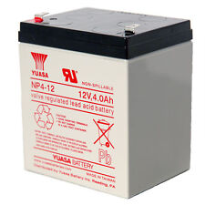 Yuasa 12V 4Ah NP4-12 Premium Rechargeable Battery for Honeywell Alarm Systems