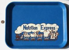 CUTE 1970-80s Era Nutrition Express cafeteria style food tray-Cartoon Train logo