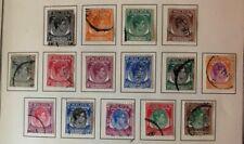 Singapore #1-20 Complete Set 1948 Used