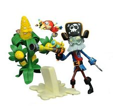 "PLANTS VS ZOMBIES GW2 ""CAPTAIN DEADBEARD & KERNEL CORN"" ACTION FIGURE (DIAMOND)"