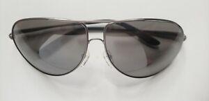 Authentic Carrera Gipsy Aviator Sunglasses R80/T4 64mm Ruthenium Grey Mirror