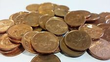 FULL ROLL 2009 MAGNETIC CANADA ONE CENT PENNIES CIRCULATED