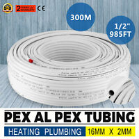 Underfloor heating PEX AL PEX pipe Tubing 16mm x 2mm 300m Heating Multilayer