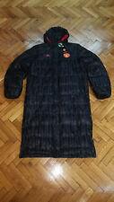 Manchester United Soccer Long Down Jacket Adidas Warm Winter Top Football Coat