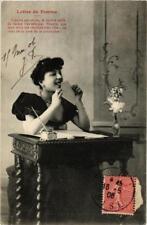 CPA Lettre de femme. A. BERGERET (674830)
