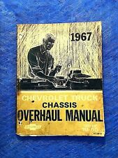 1967 CHEVROLET TRUCK CHASSIS OVERHAUL MANUAL SERIES 10-60 used free shipping