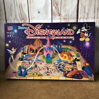 Rare Vintage Euro Disneyland MB Board Game 1992 Complete - Disney