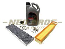Mini R55 R56 R57 R58 R59 R60 Service Kit   Air Oil Cabin Filter Sparks & Oil