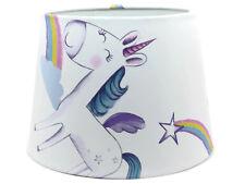 Unicorn Lampshade Ceiling Light Shade Horse Rainbow Stars Girls Bedroom Nursery