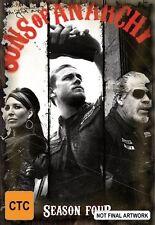 Sons Of Anarchy : Season 4 (Blu-ray, 2014, 3-Disc Set)