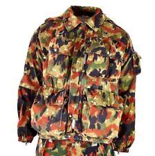 Genuine Swiss army filed parka. Switzerland Alpenflage Camo sniper parka jacket