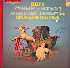 BERNARD HAITINK/CONCERTGEBOUW AMSTERDAM symphonie 1 - jeux d'enfants BIZET LP EX