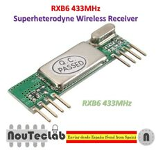 RXB6 433MHz Superheterodyne Wireless Receiver Module
