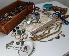 Alter schmuck konvolut 333 Gold Ring Ohrringe 835 925 Silber Nachlass