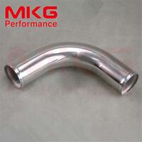"57mm 2.25"" inch 90 Degree Aluminum Turbo Intercooler Pipe Piping Tubing L=300MM"