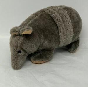 "Plush Armadillo Stuffed Animal Toy Grey Soft Toy 11"""