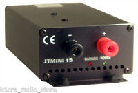 Jetstream JTMINI15 - 13.8 Volt @ 12 Amp Continuous,15 Amp surge DC Power Supply