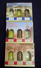 Lot 10 sets 4 ELEMENTS Holy water Jordan river Holy soil anointing oil,incense
