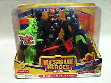 Rescue Heroes  Dual Tool Team Rocky Canyon Mountain Climber Factory Sealed!