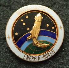 SOVIET CCCP RUSSIAN   ENERGIA-BURAN PIN  HEAVY