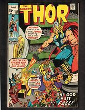 "Mighty Thor #181 ~ ""One God Must Fall!""  ~ 1970 (7.5) WH"