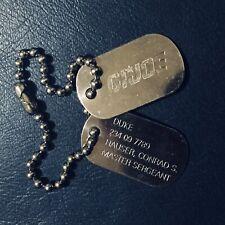 """GI JOE - Metal Dogtags for 12"""" Duke - 234 09 7899 - Genuine Accessory"""