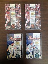 1998 Bowman Baseball Series 1 & 2 Hobby Boxes - 2 Boxes Each - Free Shipping!
