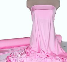 "LYCRA SPANDEX STRETCH FABRIC BABY PINK  58"" BTY , PAGEANT, SWIMWEAR, LEOTARDS"