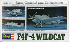 Revell 1:72 Grumman F4F-4 Wildcat Plastic Aircraft Model Kit #H-73U