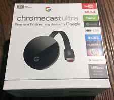 Google Chromecast Ultra 4K HDMI Media Streaming Player