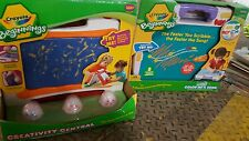 2 PC Crayola Beginnings Washable Color Me a Song & Creativity Center NEW