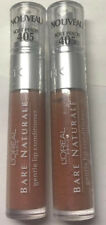 L'OREAL BARE NATURALE GENTLE LIP CONDITIONER GLOSS  #405 Soft Peach Buying 2 NEW
